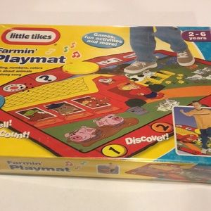 Little Tikes Farmin Life-Size learning PlayMat NEW